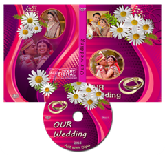 indian wedding dvd cover psd