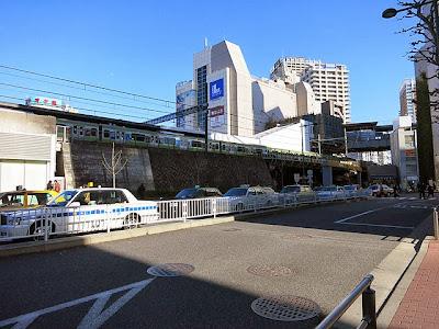 五反田駅から、おにやんままでの道のり