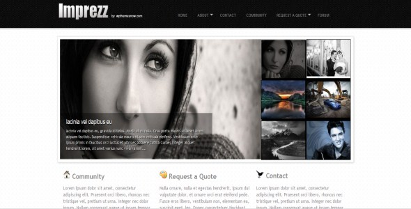 Imprezz Portfolio Wordpress Theme