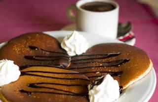 Tortitas y chocolate