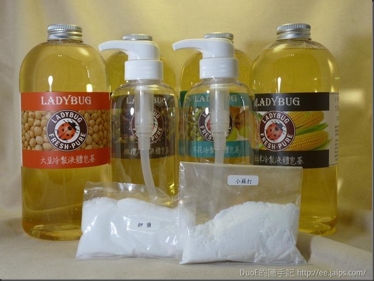 LADYBUG液態皂基-體驗內容