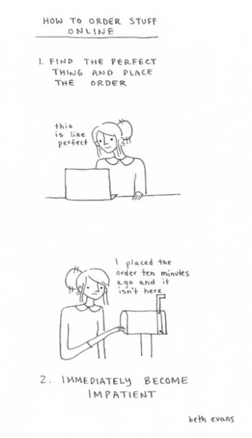 Beth Evans - Ordering Online