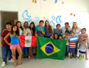 Centro Integrado Neuquén - Intercambistas Brasileiras e Peruanas
