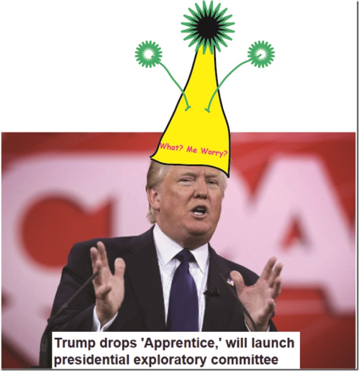 the clown trumpl