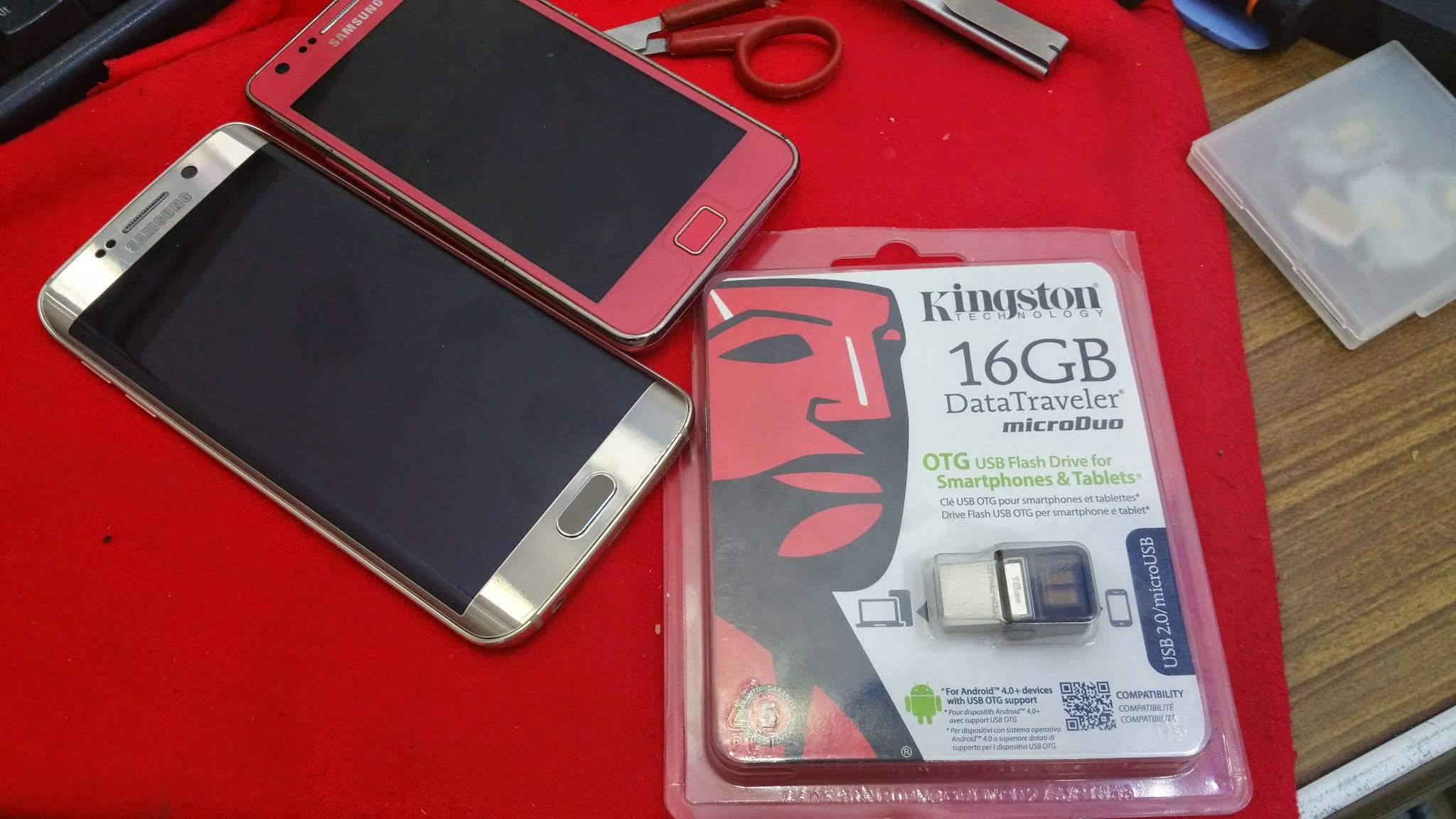 Image of Kingston Data Traveler microDuo USB On-The-Go Review and Impression