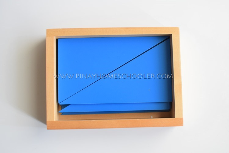 Blue Triangles Box
