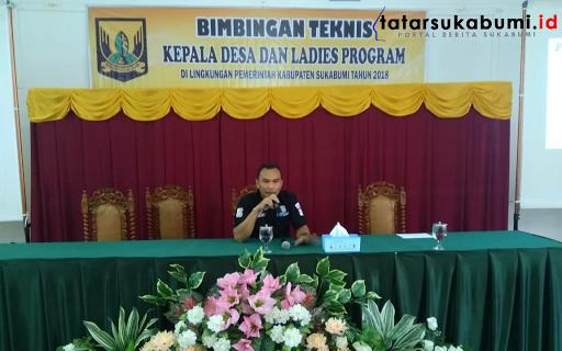 Kerawanan Tindak Pidana Korupsi, Unit Tipikor Polres Sukabumi Diturunkan Berikan Bimtek Kepada 81 Kepala Desa