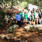 Prefeito Carlin Moura participa do projeto Contagem das Nascentes