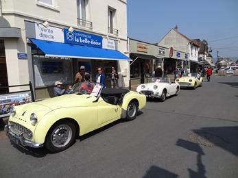 2018.05.20-016 Triumph TR3A 1958 et 1960 jaunes et MG