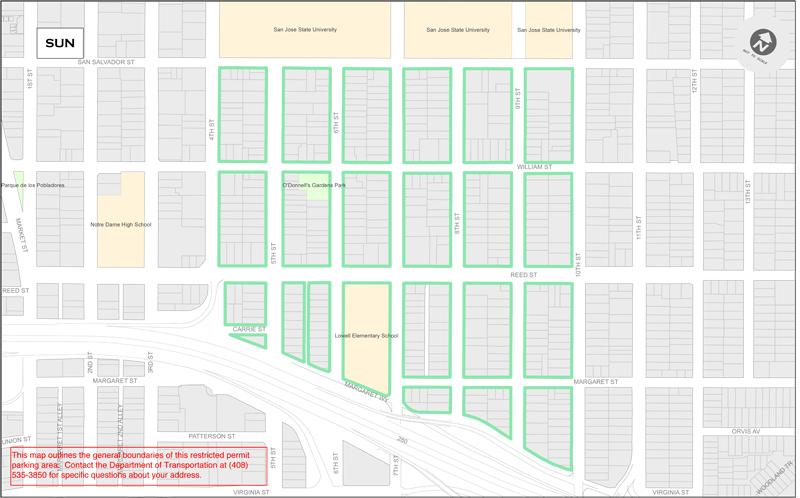 SUN Residential Parking Permits South University Neighborhood SUN