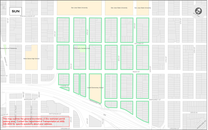 SUN Residential Parking Permits - South University Neighborhood (SUN)