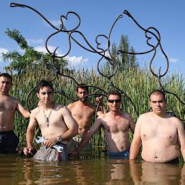 Escultura Laguna de las Encantás