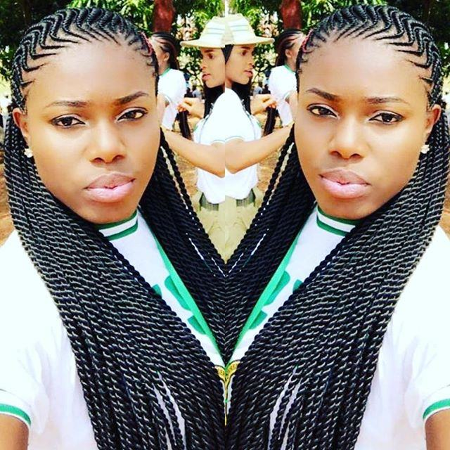 Latest African Cornrows 2018 Hairstyles