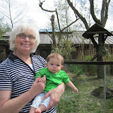 Elizabeth - Zoo with Grandma Loless