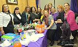 Desde la izquierda: Divina Martínez, Nurys Suárez, Kenia Correa, Jacqueline Güílamo, Juliana Hernández, Maribel González, Marilyn Fernández, Delis Hernández, Elizabeth Batista Dorrejo, Nereida Salcé, Susana Robles y Noris Casilla.