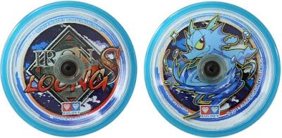 Hình ảnh hai mặt con quay Yoyo Thần Rồng Xanh