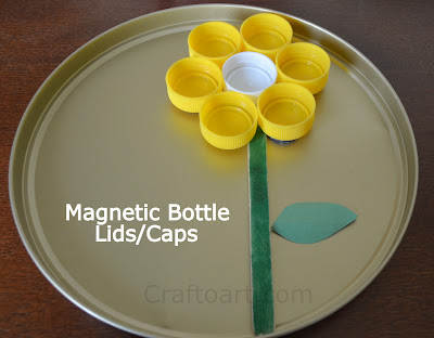 Magnetic Bottle Lids/caps play