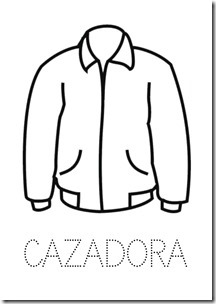 Cazadora ropa dibujos colorear pintaryjugar  (18)