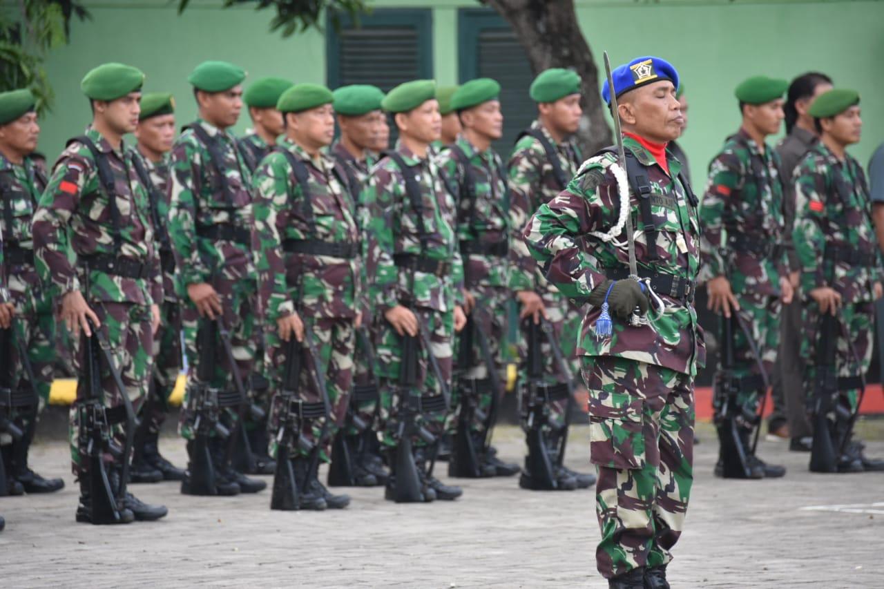 Lewat Upacara Bendera di Makorem 141/Tp, Pangdam XIV Hsn Tegaskan TNI Harus Netral