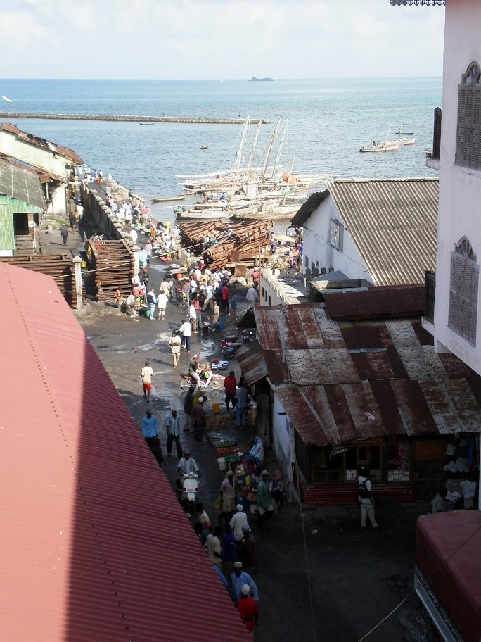 The port, Stone Town, Zanzibar