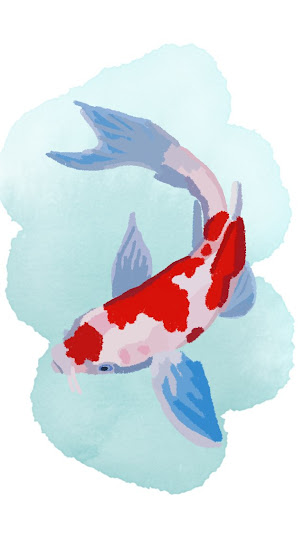 Koi Fish made with Sketches