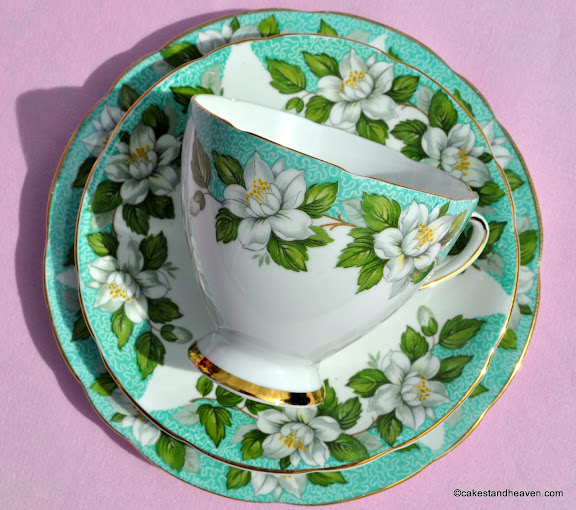 Vintage Bone China Made in Staffordshire