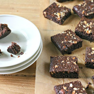 Hazelnut Brownies. Grain Free & Gluten Free.