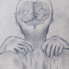 by IS Photography - Drawing All Drawing ( abstract, thoughts, sketch, mental health, illustration, art, mind, man, intricate )