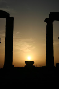 Sunset, Temple of Poseidon, Cape Sounion