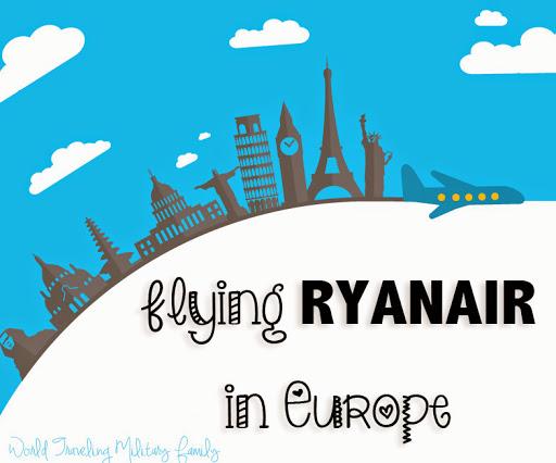 Flying Ryanair - World Traveling Military Family