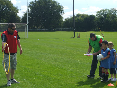 Paul Bergin & Adrian Murphy coaching
