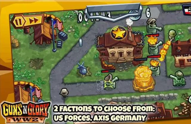 Google Play İndirimi - Guns Glory WW2 Premium