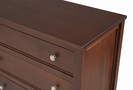 "62"" x 36"" Strafford Horizontal Dresser in Mocha Walnut"