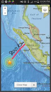 Gempa Bumi 7.9 Magnitud Landa Sumatera