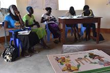 Školení žen s malými dětmi o správném stravování, hygieně a podvýživě. (Foto: Tereza Hronová, ČvT)