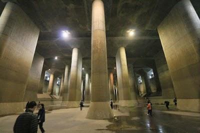 聖地巡礼記:G線上の魔王@首都圏外郭放水路を見学してきたぞ!