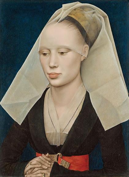 Rogier van der Weyden - Portrait of a Lady, c. 1460