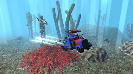 Submarine Transformer Truck 3D Screenshot