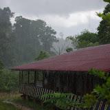 Les Carbets de Coralie (Crique Yaoni) sous la pluie, 2 novembre 2012. Photo : J.-M. Gayman