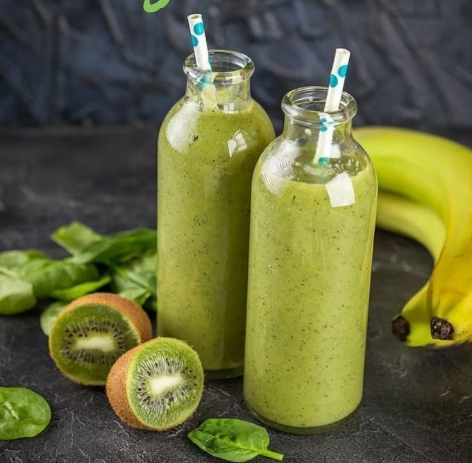 Kiwi & Banana Smoothie Recipe | Breakfast Care