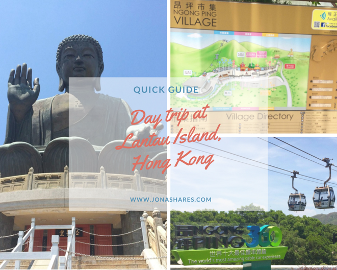 Day Trip Experience at Lantau Island, Hong Kong