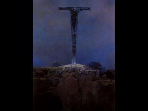 Zdzislaw Beksinski Sword, Death
