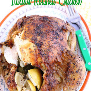 Italian Roasted Whole Chicken
