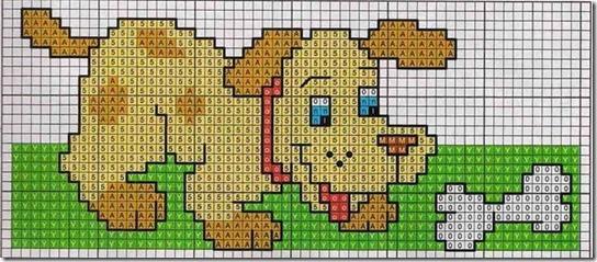 perros punto de cruz (2)