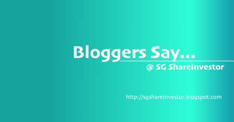 SG Invest Bloggers' Articles on stock to buy, SGX market reviews, investment strategies @ SGShareInvestor