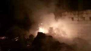 Malam Ini Terjadi Kebakaran di Sukaluyu Telukjambe Timur