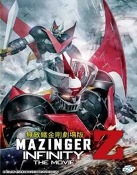 Capa Mazinger Z: Infinity Dublado 2018 Torrent