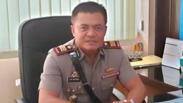 Foto Kapolsek Lubuk Kilangan AKP Lija Nesmon. Polsek Luki Ringkus DPO Pencurian Kabel Milik PT Semen Padang.