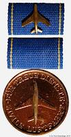 189 Luftfahrt Gold I medailles
