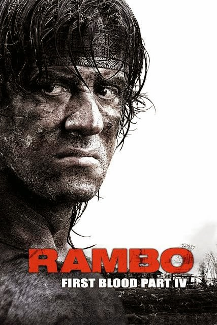 Poster Of Rambo: First Blood Part IV (2008) Full Movie Hindi Dubbed Free Download Watch Online At Alldownloads4u.Com